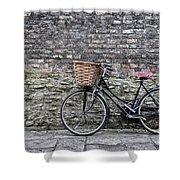 Cambridge Bike 3 Shower Curtain