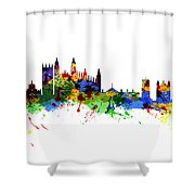 Cambridge England Shower Curtain