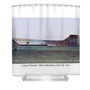 Cambridge Massachusetts - Harvard College Stadium At Soldiers Field - 1904 Shower Curtain