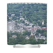 Camden Harbor 2381 Shower Curtain
