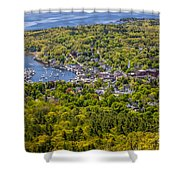 Camden Harbor View Shower Curtain