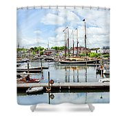 Camden Marina Shower Curtain