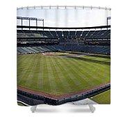 Camden Yards - Baltimore Orioles Shower Curtain