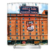 Camden Yards Shower Curtain