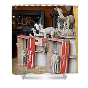 Camel Cola Shower Curtain