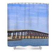 Camelback Bridge Shower Curtain