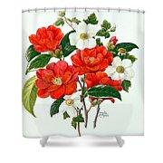 Camellia Adolf Audusson Shower Curtain
