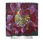 Camellia Rain Shower Curtain