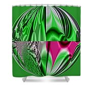 Camelopardalis Shower Curtain