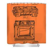 Camera Patent 1953 Shower Curtain