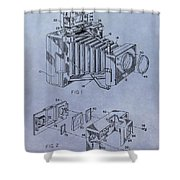 Camera Patent Shower Curtain