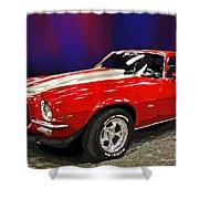 Camero Z28 Shower Curtain