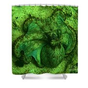 Camoflauged Octopus Shower Curtain