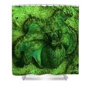 Camoflauged Octopus Shower Curtain