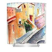 Camogli In Italy 01 Shower Curtain