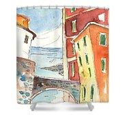 Camogli In Italy 04 Shower Curtain