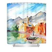 Camogli In Italy 11 Shower Curtain