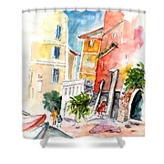 Camogli In Italy 13 Shower Curtain