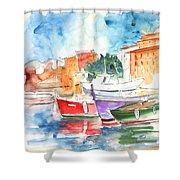 Camogli In Italy 14 Shower Curtain