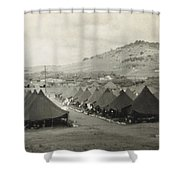 Camp Garcia In Vieques  Shower Curtain