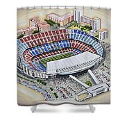 Camp Nou - Barcelona Fc Shower Curtain