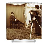 Camp Photographer Shower Curtain