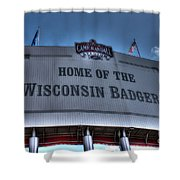 Camp Randall Stadium Shower Curtain