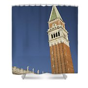 Campanile In Venice Shower Curtain