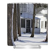 Campgrounds One Shower Curtain