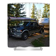 Camping 42 Shower Curtain