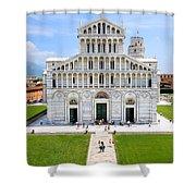 Campo Dei Miracoli - Pisa Shower Curtain