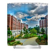 Campus Life Shower Curtain