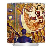 Can Can Le Chahut Shower Curtain