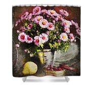 Can Of Raspberries Shower Curtain