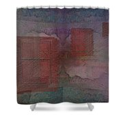 Can You Hear Me Knocking Now Shower Curtain by Tim Allen