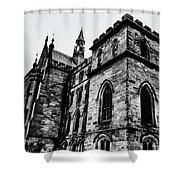 Can You Hear Me Shower Curtain by Doc Braham