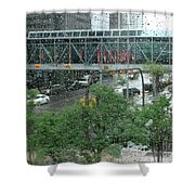 Canada Calgary Plus15 Shower Curtain