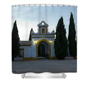 Canada De Rosal Spain Shower Curtain