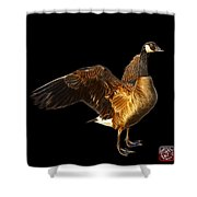 Canada Goose Pop Art - 7585 - Bb  Shower Curtain