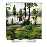 Canada Morning Shower Curtain