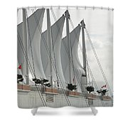 Canada Place Sails Shower Curtain