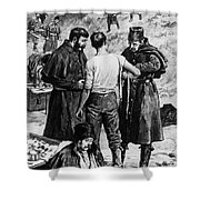 Canada: Riel Rebellion, 1885 Shower Curtain