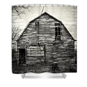 Canadian Barn Shower Curtain