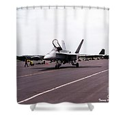 Canadian F-18 Shower Curtain