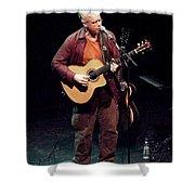 Canadian Folk Rocker Bruce Cockburn In 2002 Shower Curtain