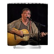 Canadian Folk Singer James Keeglahan Shower Curtain
