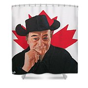 Canadian Icon Stompin' Tom Conners  Shower Curtain