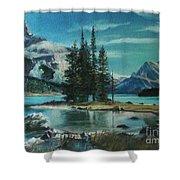 Canadian Landscape  Shower Curtain