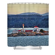 Canadian Lighthouses Sc3415-13 Shower Curtain