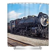Canadian National 3254 Shower Curtain
